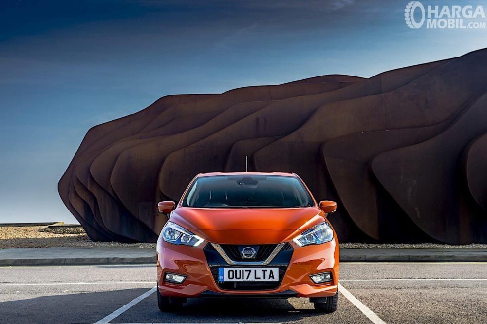 Nissan March 2019 Memiliki Perubahan Bagian Depan Lebih Menarik