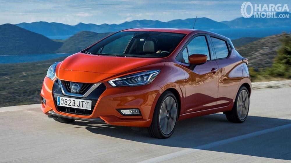 Desain Samping Nissan March 2019 Dengan Garis Yang Stylish