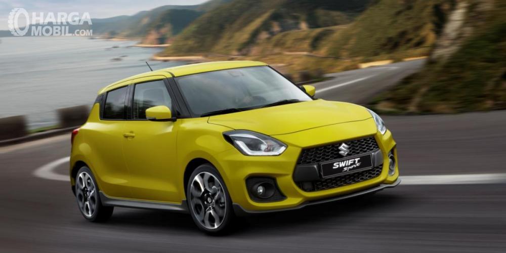 Suzuki Swift Sport 2018 Dengan Bumper Yang Tegas