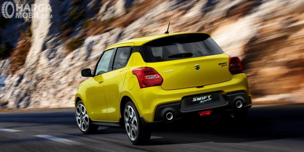 Dual Knalpot Pada Suzuki Swift Sport 2018 Sangat Sporty