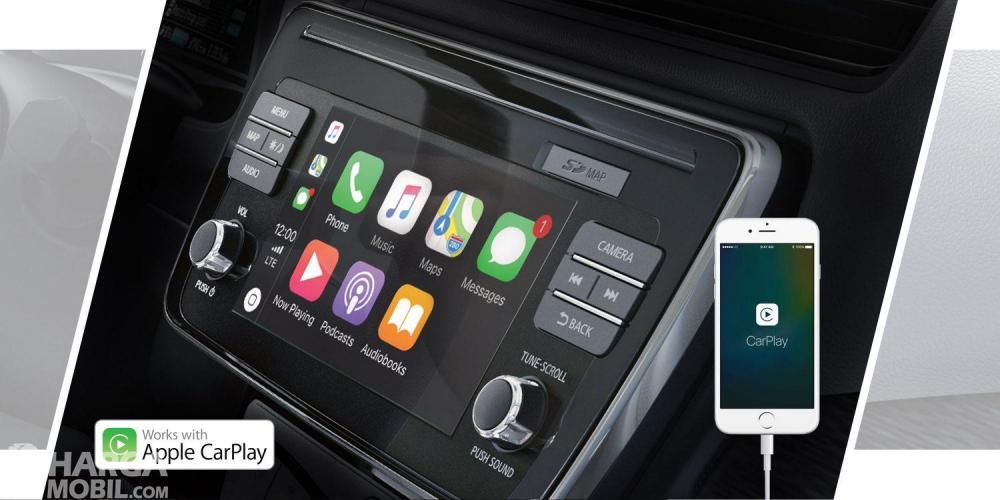 Nissan LEAF 2019 Dilengkapi Fitur Apple CarPlay dan Android Auto