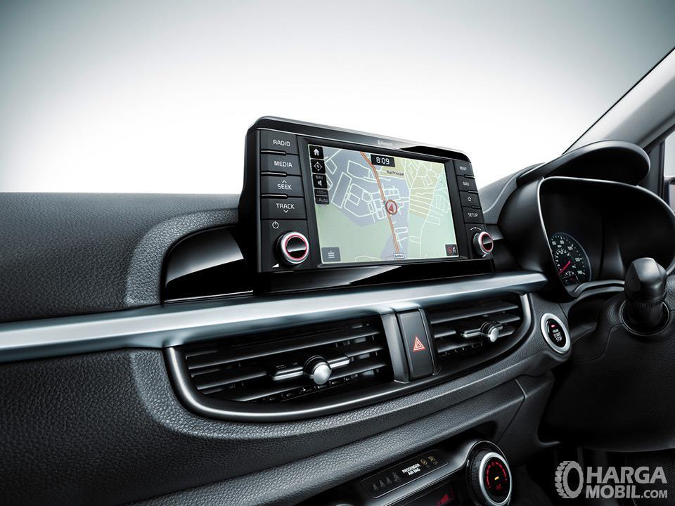 Fitur Hiburan KIA Picanto 2019 tampil menarik dengan sistem audio mumpuni