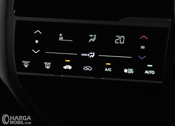 Dashboard Honda WRV 2019 menghadirkan banyak fitur menarik khususnya Automatic Climate Control