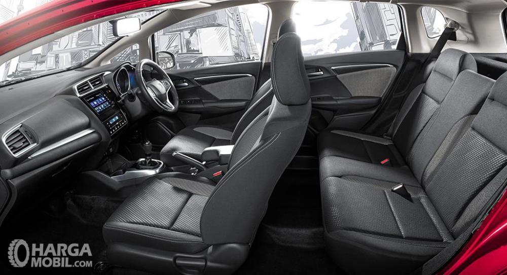 Kursi Honda WRV 2019 hanya dibalut dengan material kain berkualitas