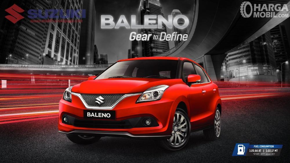 Suzuki Baleno merupakan model Hatchback yang hingga kini masih diminati masyarakat Indonesia