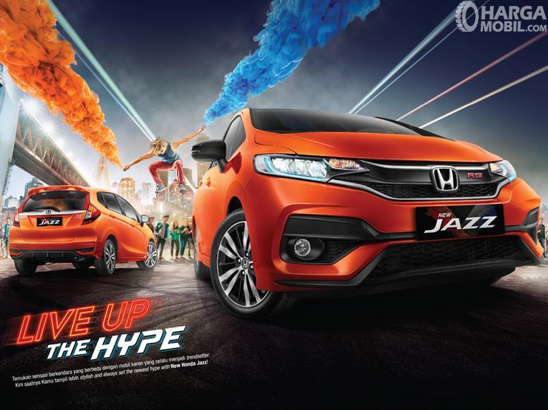 Honda Jazz mengusung tema Live Up The Hype yang sangat sesuai dengan karakter anak muda masa kini