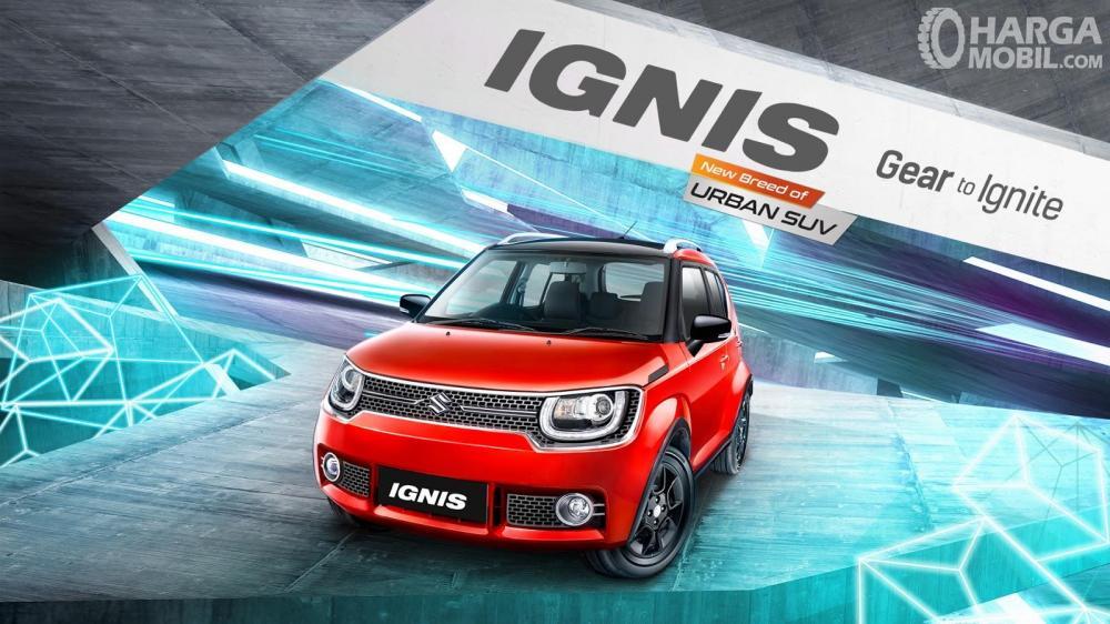 Suzuki Ignis tampil sangat menarik sesuai gaya anak muda masa kini
