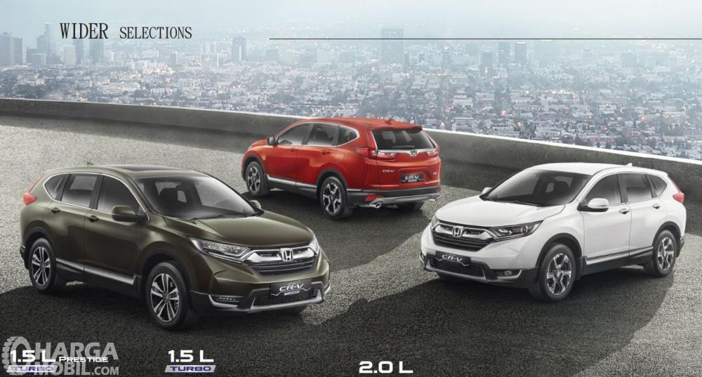 Honda CR-V merupakan model SUV Premium yang memiliki berbagai fitur canggih