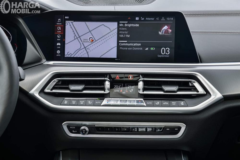 Foto interior BMW X5 2018