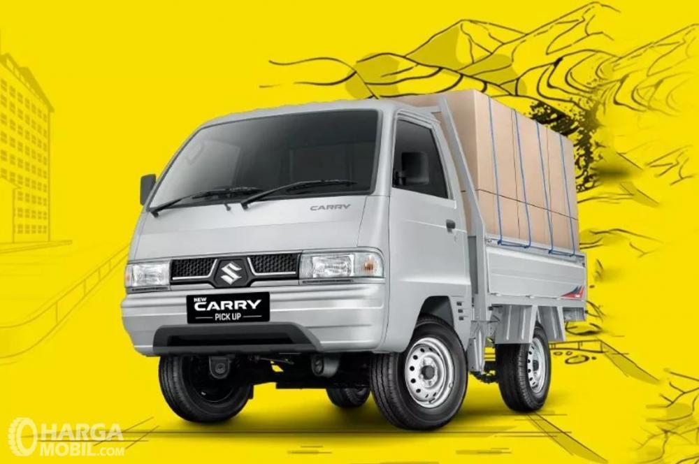 Foto Suzuki Carry Pick Up penuh dengan angkutan