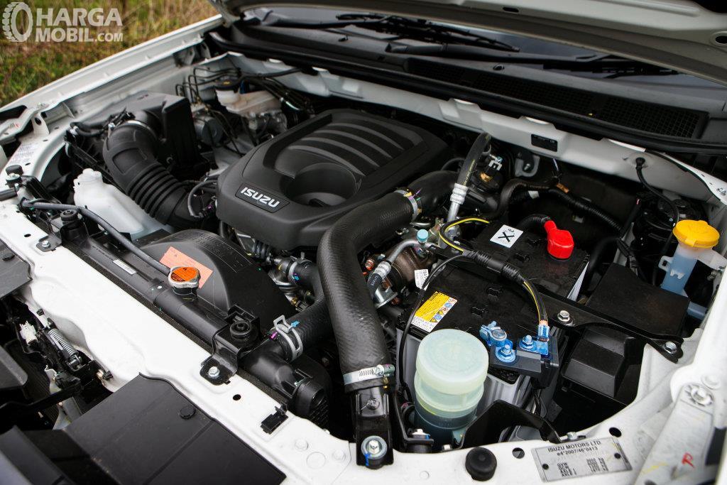 Mesin Isuzu D-Max 2019 mampu meraih daya maksimum di angka 130 kW
