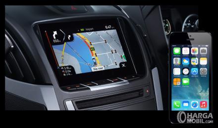 Fitur hiburan Isuzu D-Max 2019 terletak pada sistem audionya yang sudah didukung teknologi Bluetooth