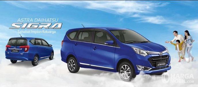 Daftar Harga Daihatsu Sigra terbaru 2018 dibanderol sangat terjangkau di kisaran Rp. 100 jutaan
