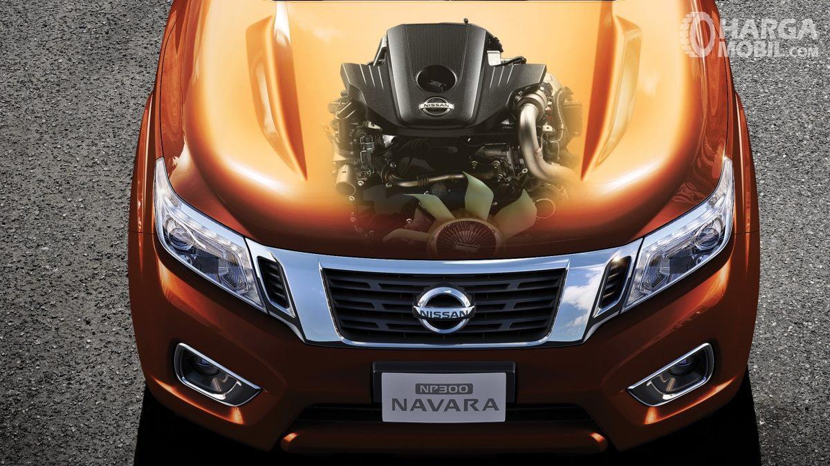 Operasi Mesin Nissan Navara 2015 memberi daya maksimum 190 HP dengan torsi maksimum 450 Nm