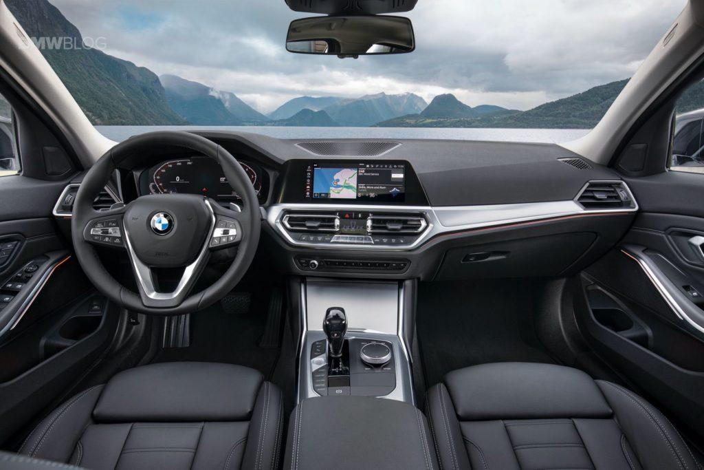 Dashboard BMW 3 Series 2019 lebih keren