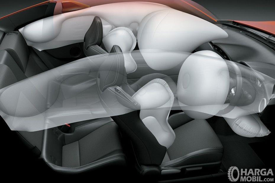 Foto airbag Toyota 86