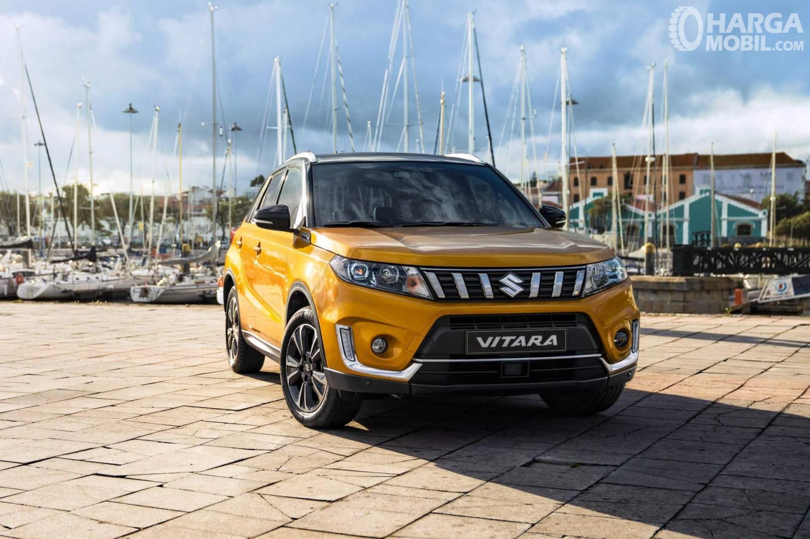 Desain Suzuki Vitara 2019 terlihat maskulin namun agresif