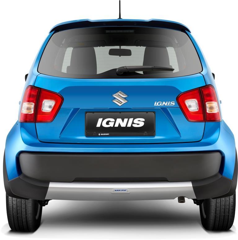 Eksterior belakang Suzuki Ignis Sport 2018 menggunakan Rear Under Spoiler