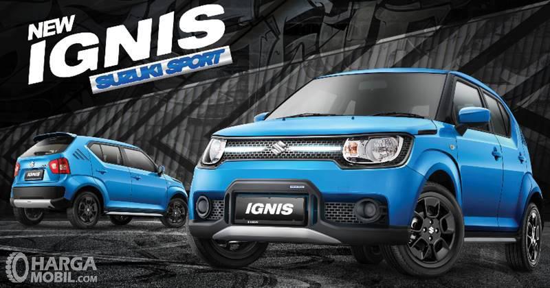 Suzuki Ignis Sport Edition menyuguhkan esensi sporty dan agresif