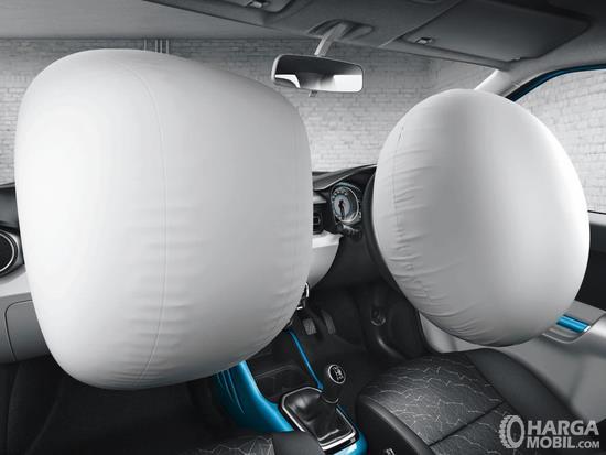 Fitur keselamatan Suzuki Ignis Sport 2018 sudah menyajikan Dual SRS Airbags untuk meminimalisir cedera