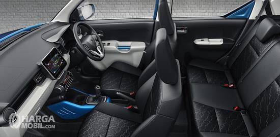 Kursi Suzuki Ignis Sport 2018 dibekali balutan bahan berkualitas