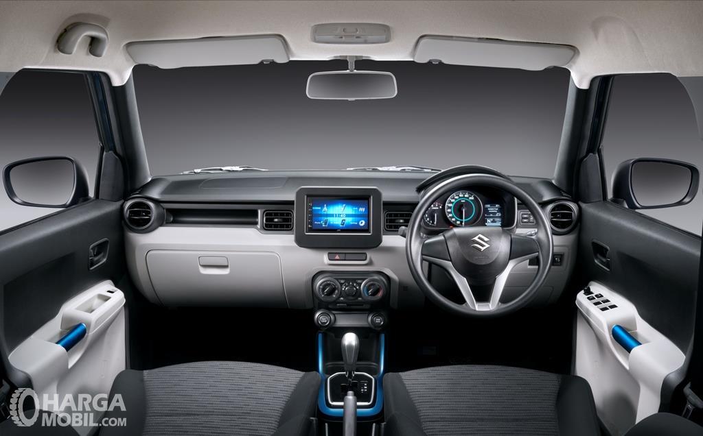 Dashboard Suzuki Ignis Sport 2018 menyajikan desain futuristik