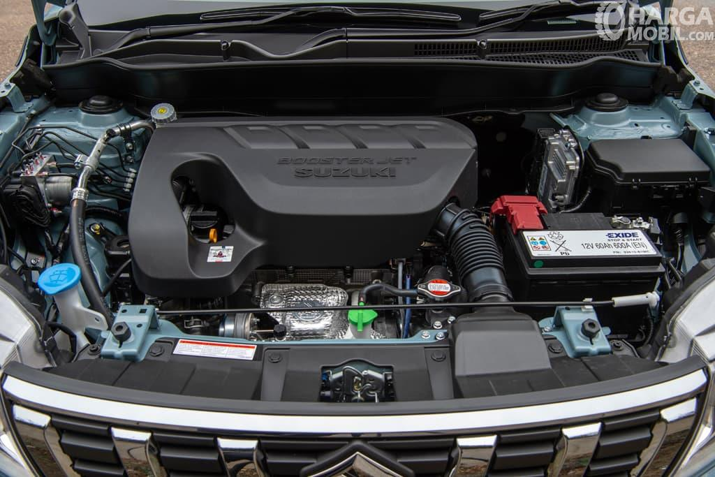 Operasi mesin Suzuki Vitara 2019 menerapkan teknologi Direct Injection Turbocharged (DITC)