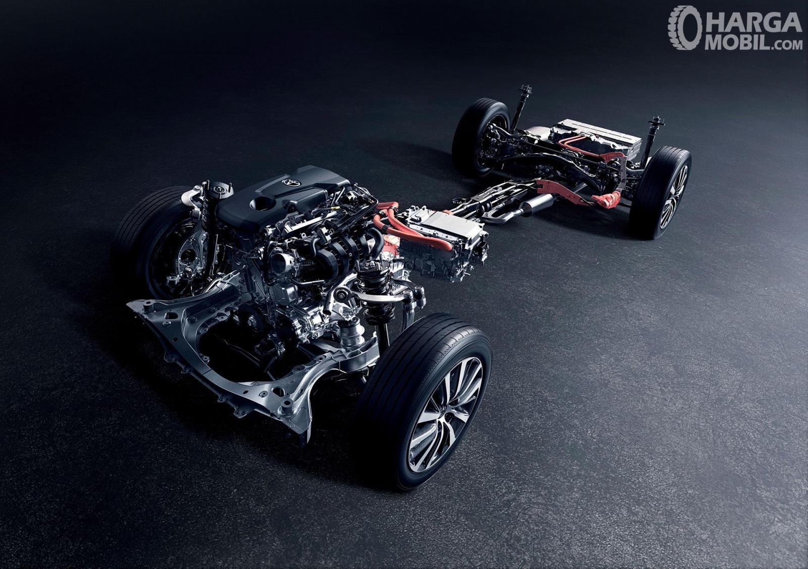 Operasi mesin Toyota Crown 2018 terbilang spesial dengan kapasitas 2.487 cc khususnya pada varian DFEH