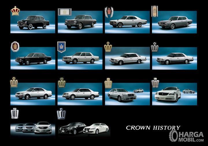 Sejarah Toyota Crown selalu menarik mengikuti tren di masing-masing zaman