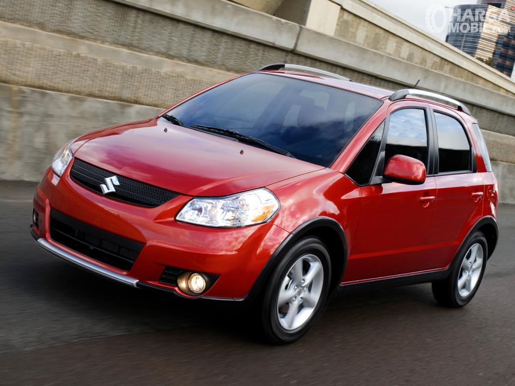 Fitur keselamatan Suzuki SX4 X-Over 2007 menawarkan kenyamanan khususnya pada aspek Handling
