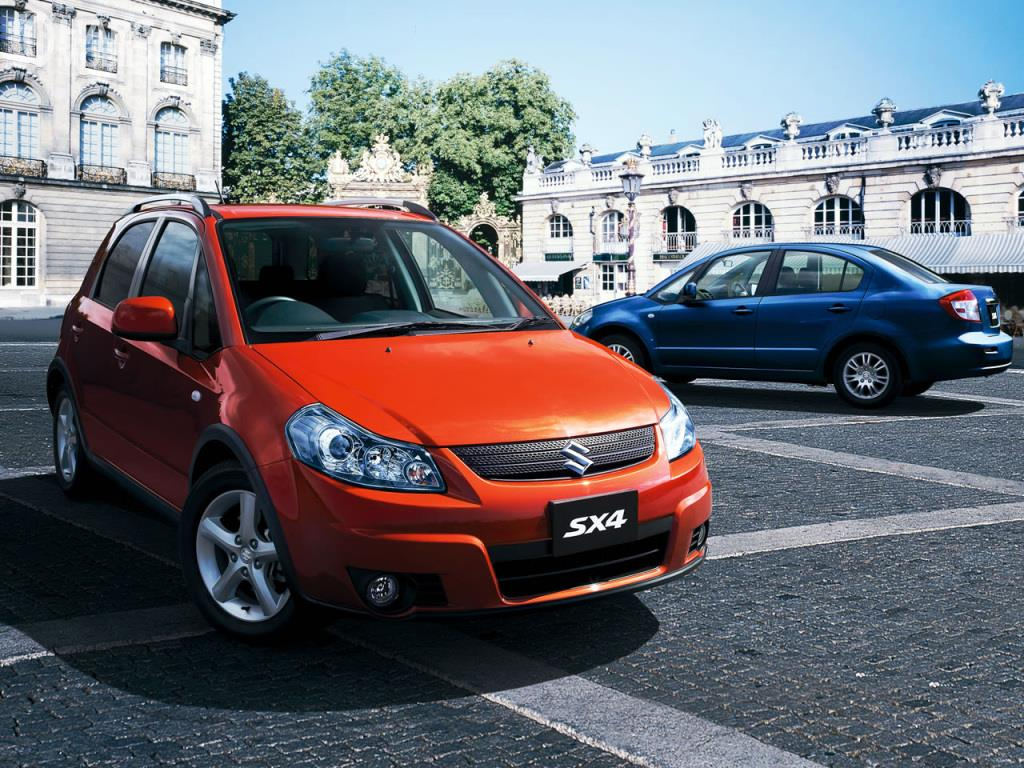 Tampilan Suzuki SX4 S-Over 2007 memiliki desain yang ikonik di zamannya