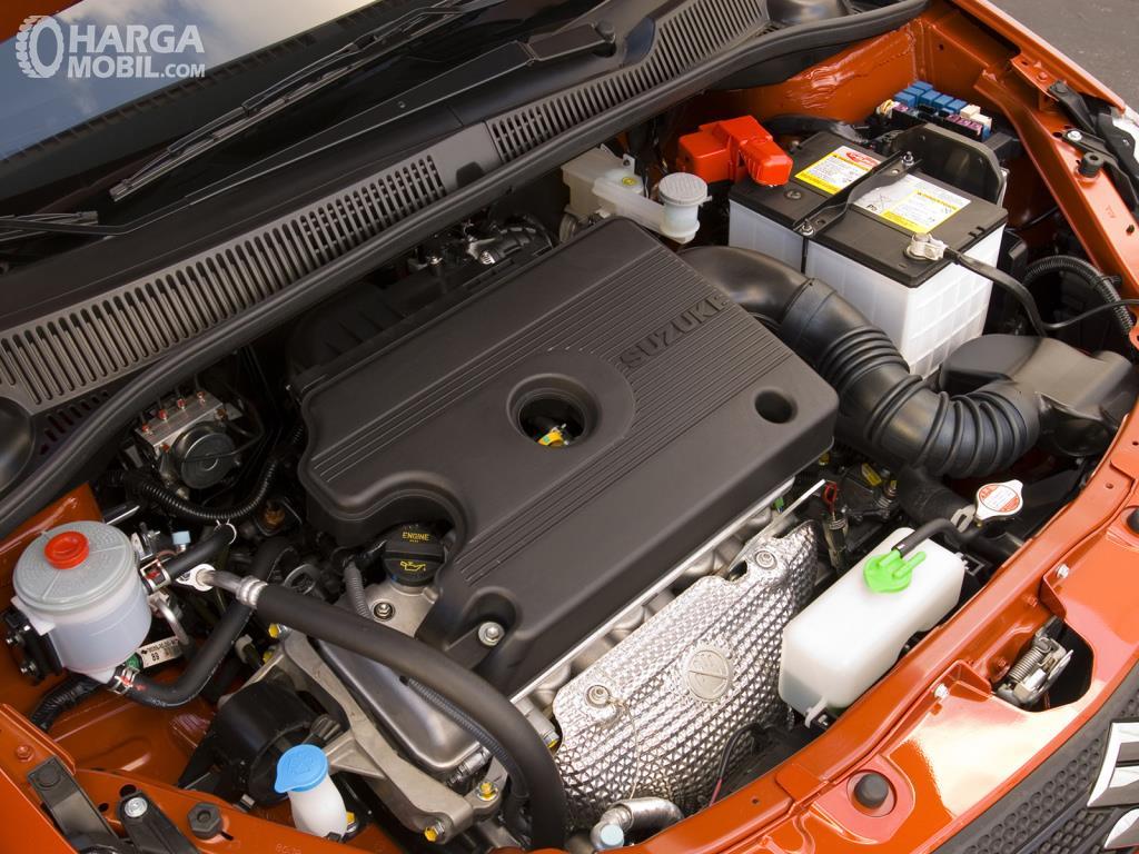Operasi mesin Suzuki SX-4 X-Over 2007 sudah dibekali kapasitas 1.5 Liter