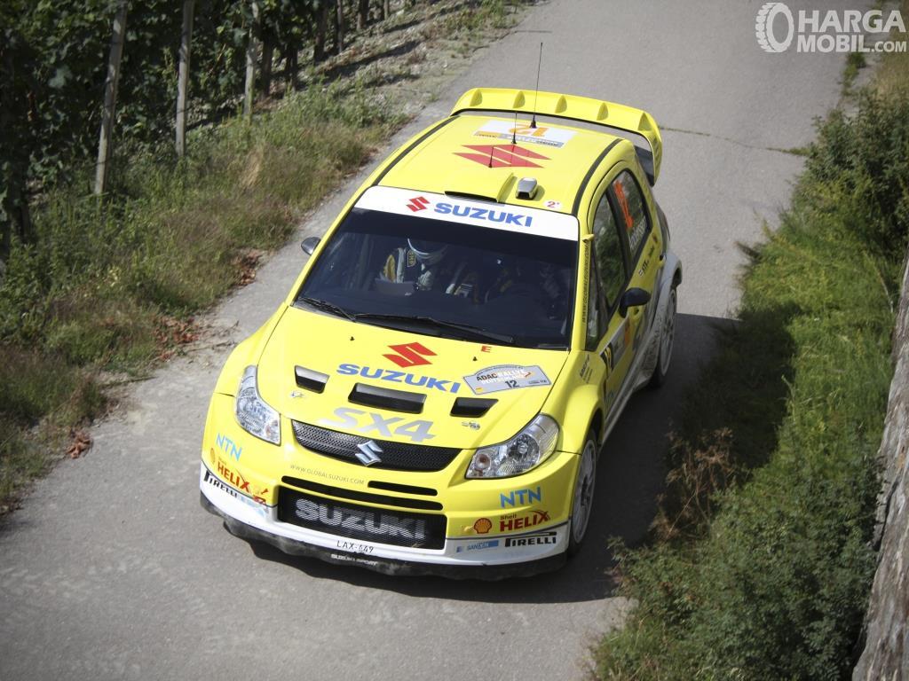 Suzuki SX4 X-Over berangkat dari ketenarannya di ajang WRC 2008