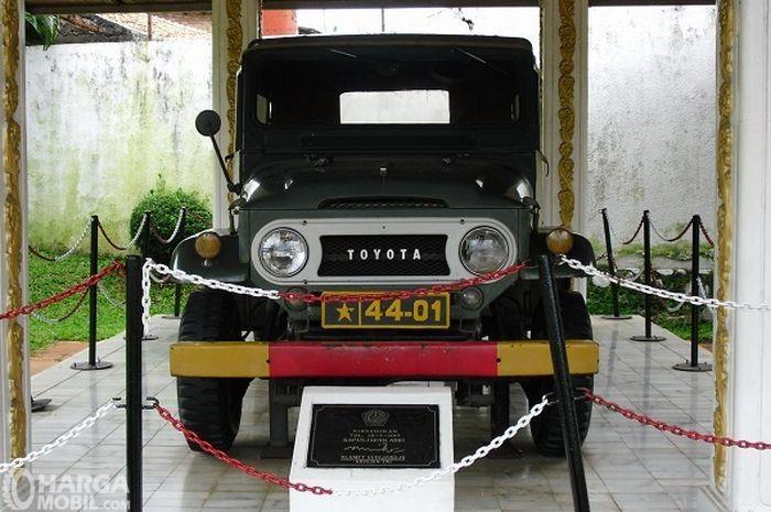 Toyota Hardtop Soeharto menjadi salah satu saksi sejarah bahwa model Hardtop digunakan sebagai kendaraan militer Indonesia
