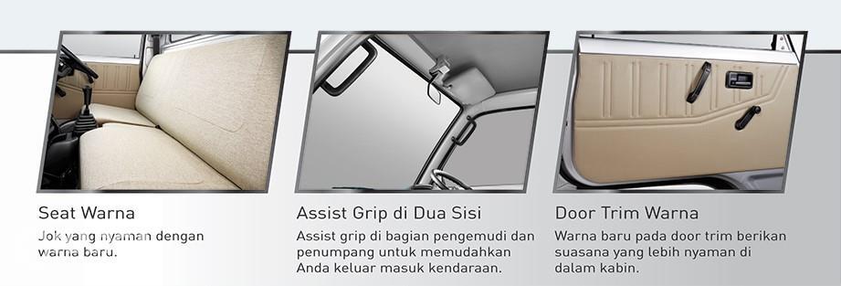 Gambar fitur Interior Suzuki Carry Pickup