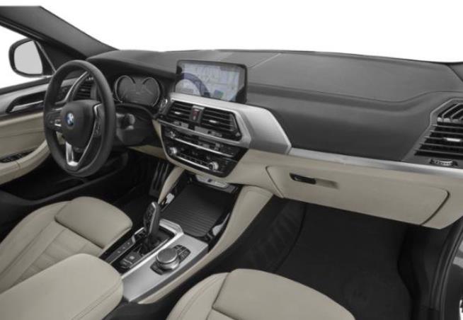 Gambar ini menunjukkan dashboard dan kemudi pada Mobil BMW X4 M40i 2019