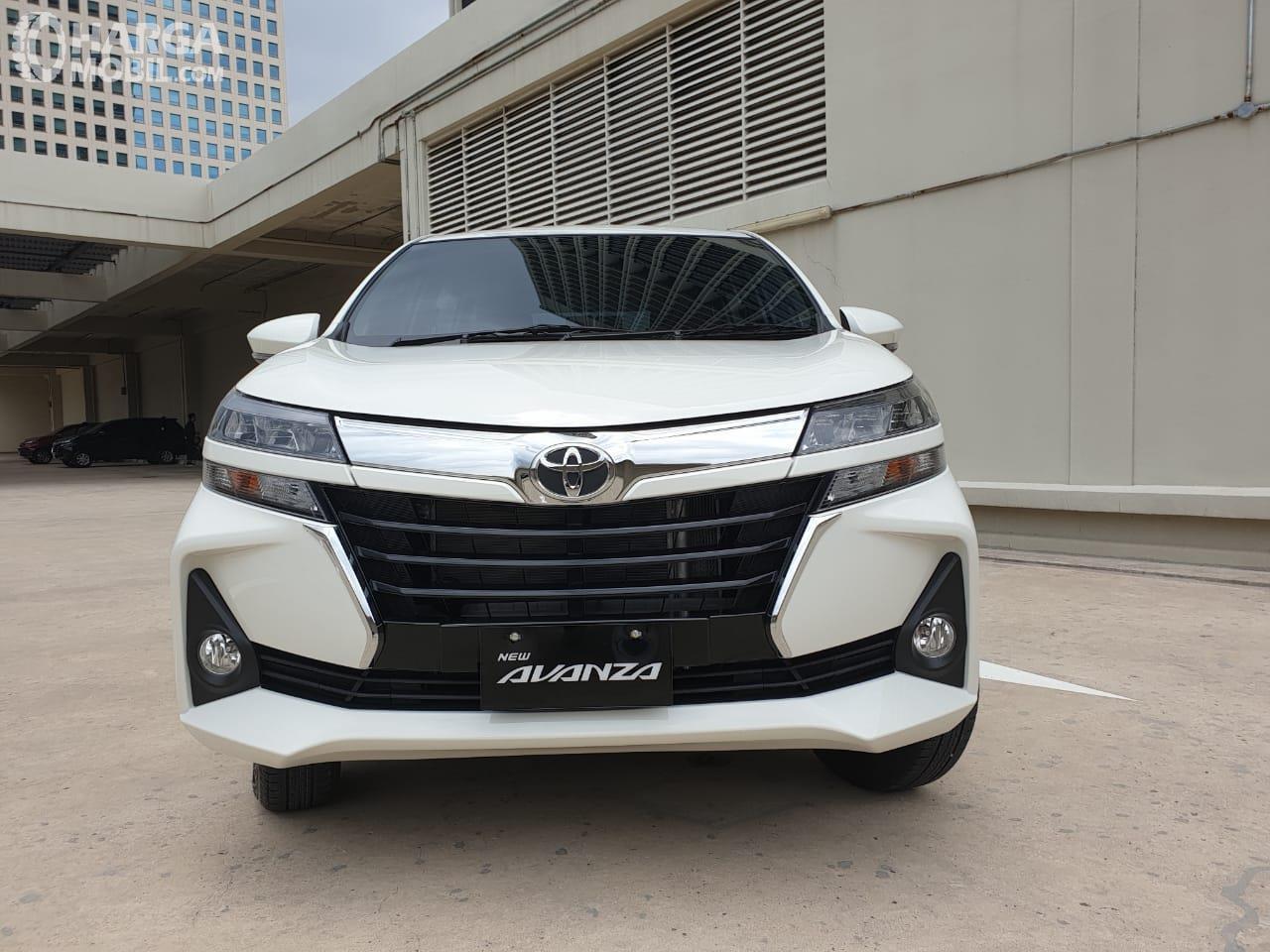Foto bagian depan Toyota Avanza 2019