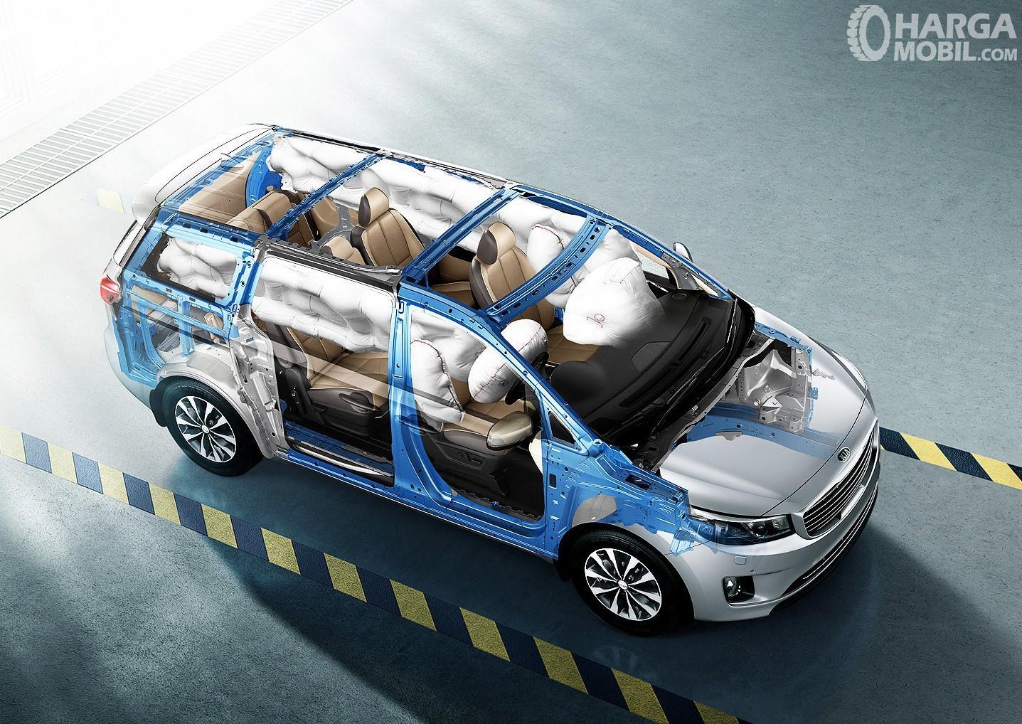 Gambar kerangka KIA Grand Sedona Diesel