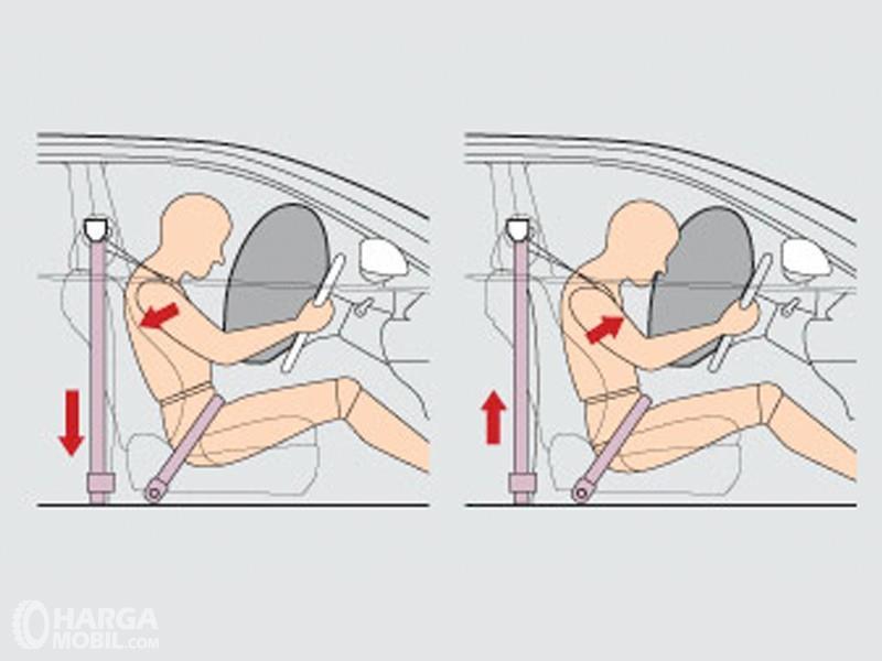 Seatbelt Mitsubishi Outlander Sport