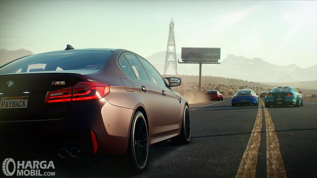 BMW M5 Need For Speed Payback dihadirkan pada game bergengsi tersebut