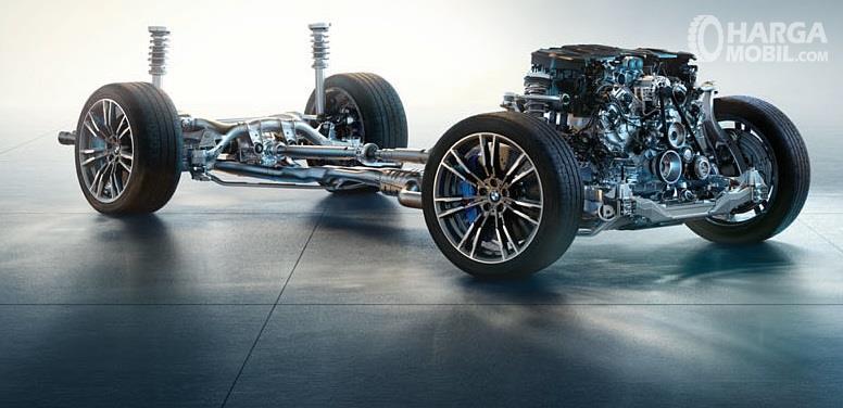 Fitur Keselamatan BMW M5 2018 tampil sangat lengkap khususnya dalam mendukung sensasi berkendara yang nyaman