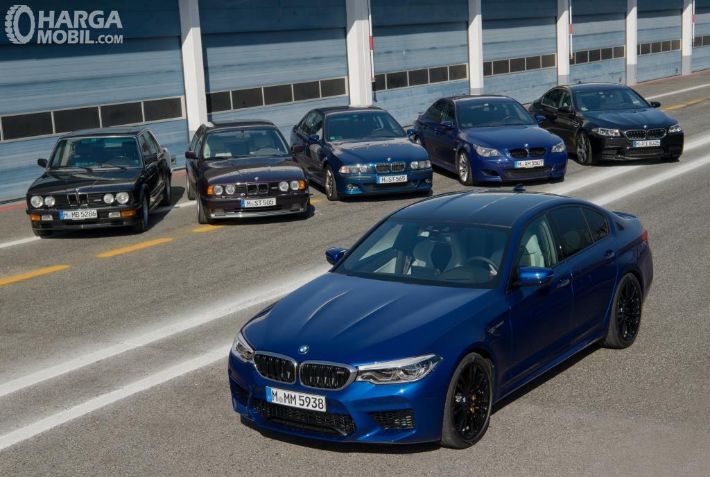 Generasi BMW M5 sudah memiliki enam generasi hingga tahun 2018 ini