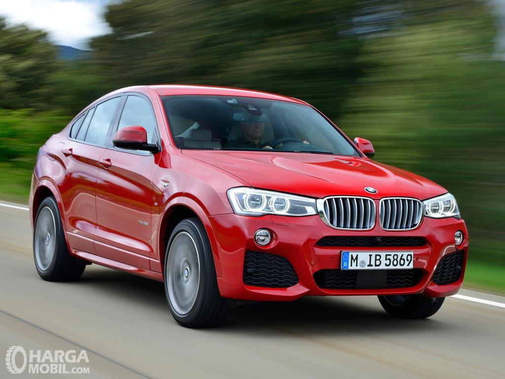 Performa BMW X4 xDrive28i M Sport 2014 terbilang mumpuni untuk area perkotaaan