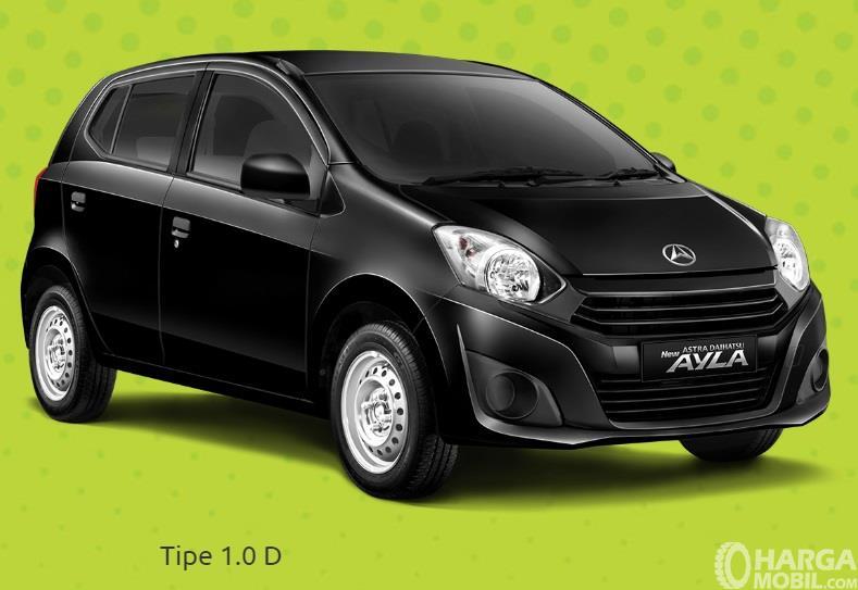Daihatsu Ayla 1.0 D adalah varian paling terjangkau