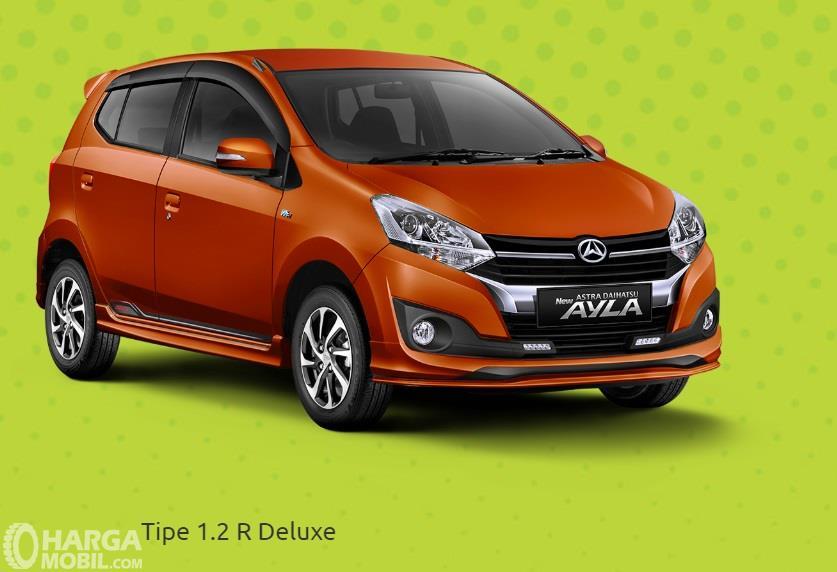 Daihatsu Ayla 1.2 R DLX adalah varian tertinggi
