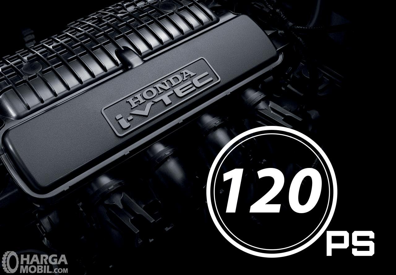 Gambar menunjukkan tampilan bagian mesin New Honda City 2019