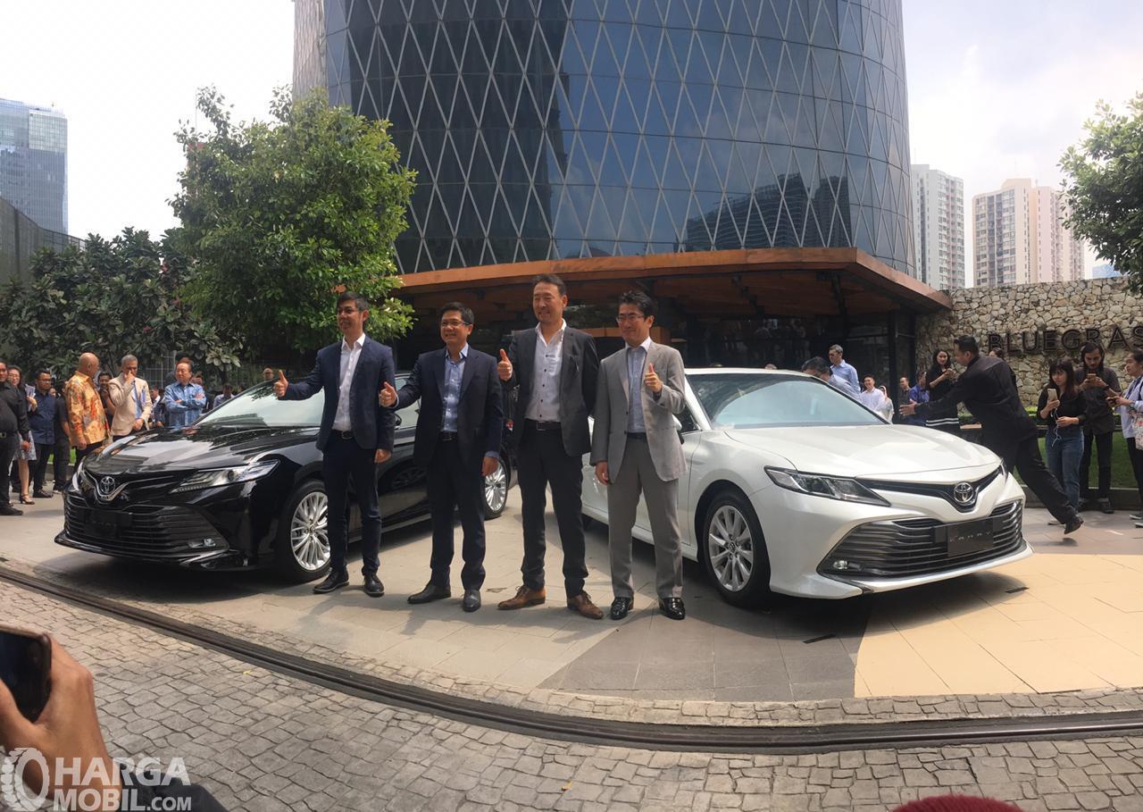 Foto saat peluncuran All New Toyota Camry 2019