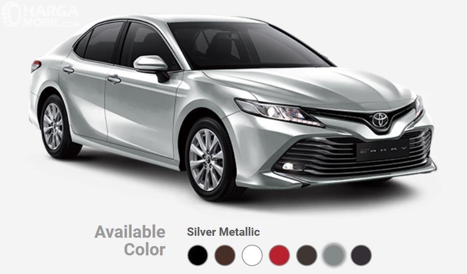 Warna-warna pilihan All New Toyota Camry 2019