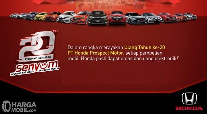 Banner promo Honda bulan Maret 2019