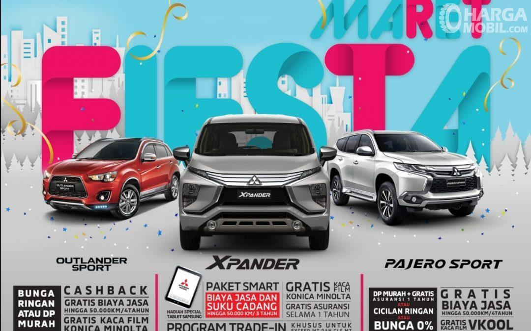 Mitsubishi menghadirkan beragam promo menarik selama Maret 2019